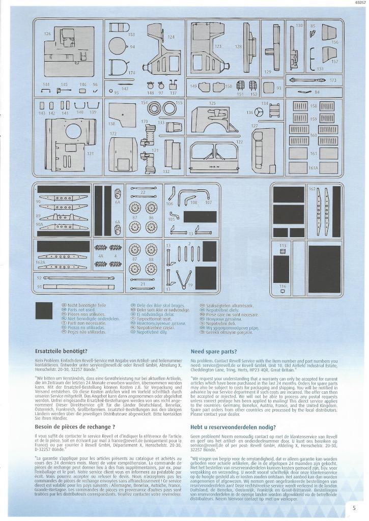 Anleitung05 LKW 5t. mil gl 1:35 Revell (#03257)