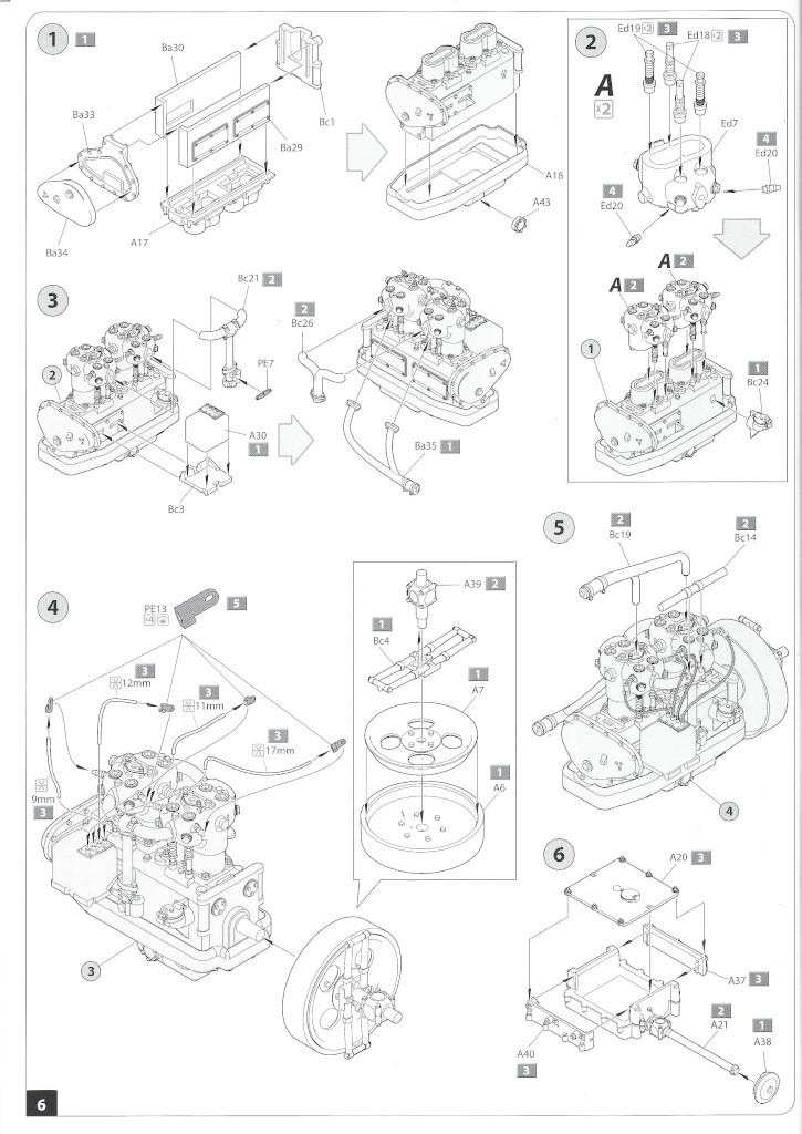 Anleitung06-3 B-Type Military Omnibus 1:35 Miniart (#39001)
