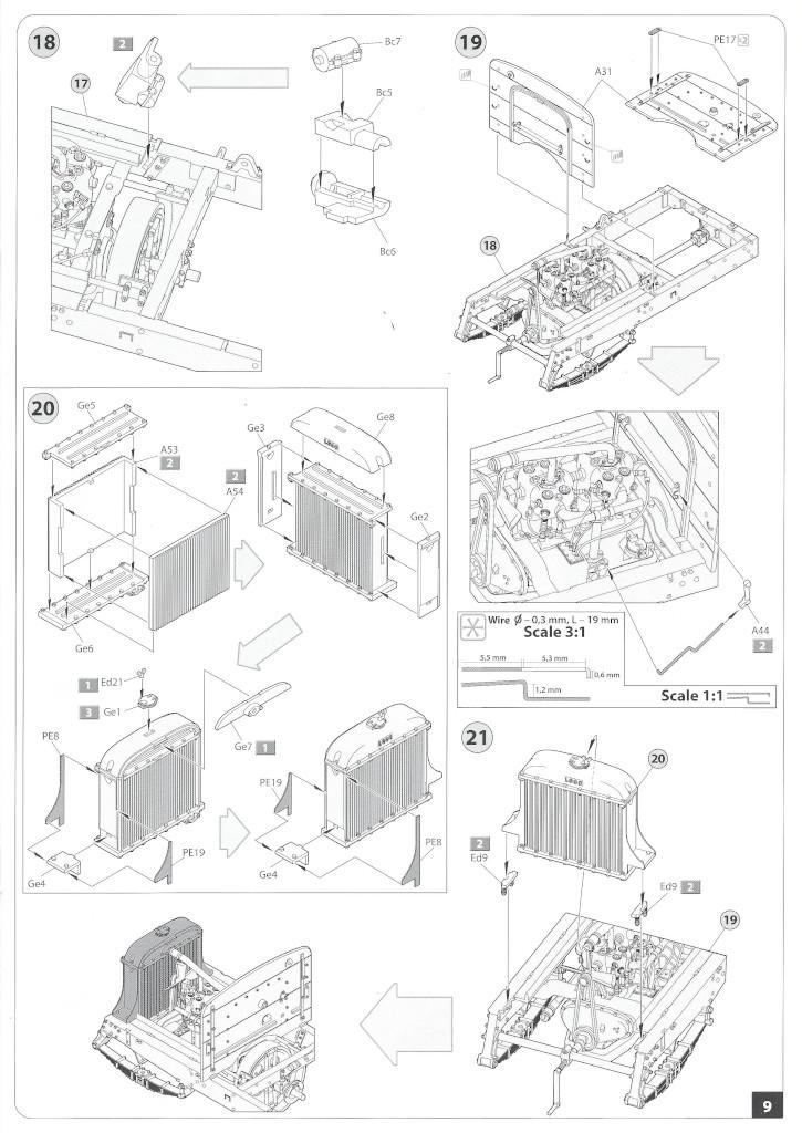 Anleitung09-3 B-Type Military Omnibus 1:35 Miniart (#39001)