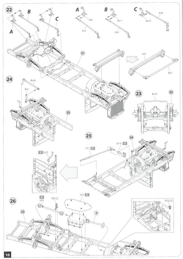 Anleitung10-3 B-Type Military Omnibus 1:35 Miniart (#39001)