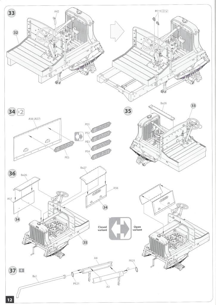 Anleitung12-3 B-Type Military Omnibus 1:35 Miniart (#39001)