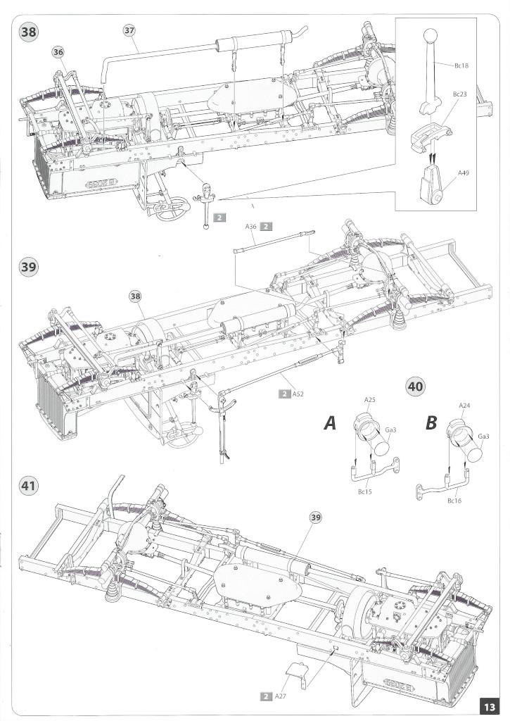 Anleitung13-3 B-Type Military Omnibus 1:35 Miniart (#39001)