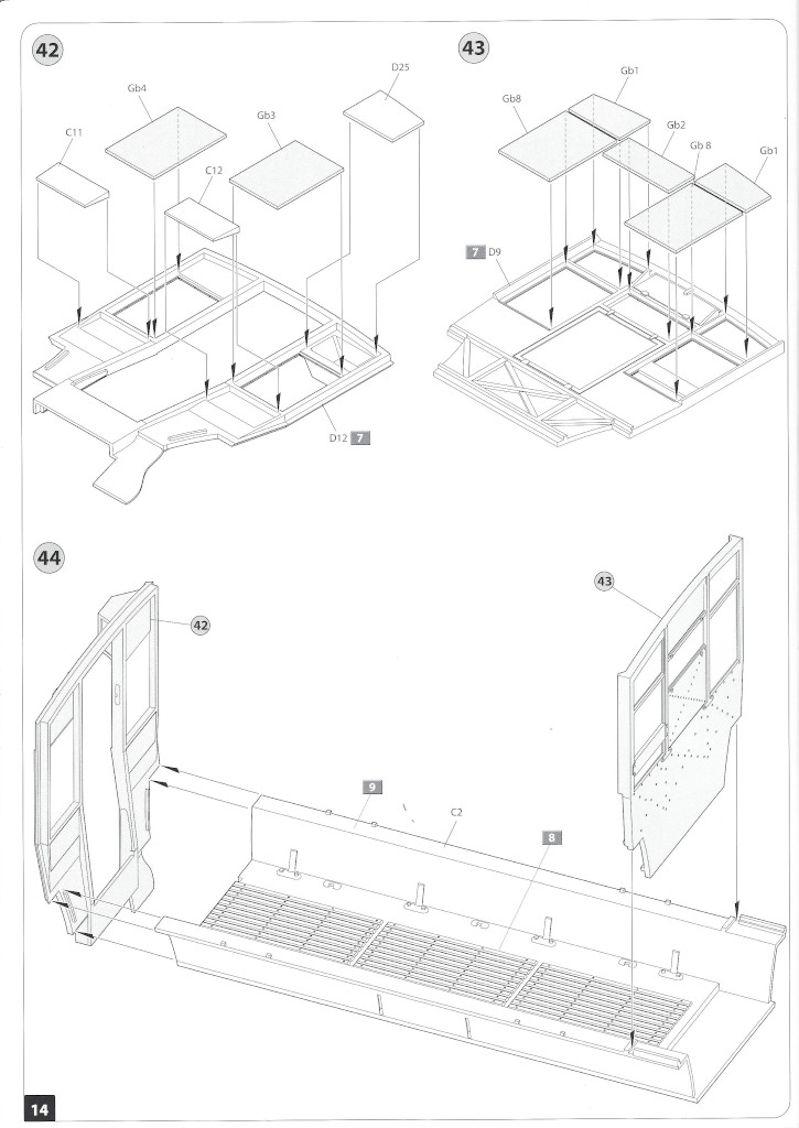 Anleitung14-3 B-Type Military Omnibus 1:35 Miniart (#39001)