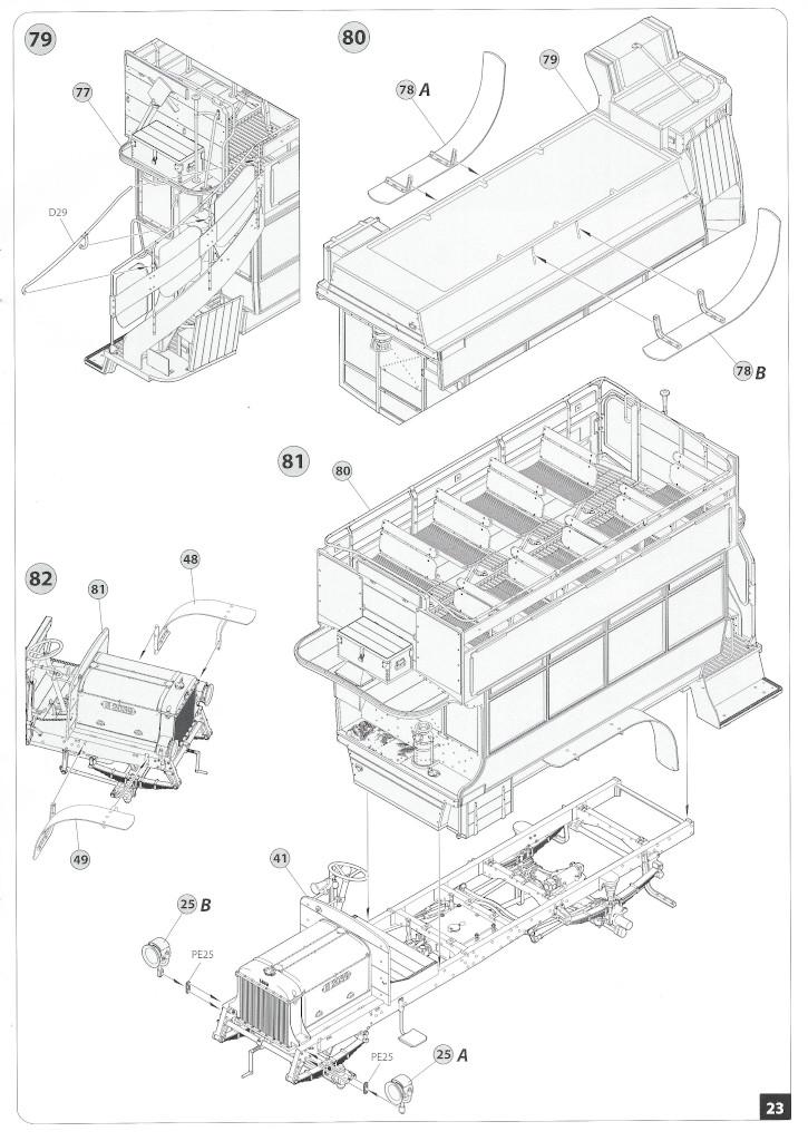 Anleitung23-1 B-Type Military Omnibus 1:35 Miniart (#39001)