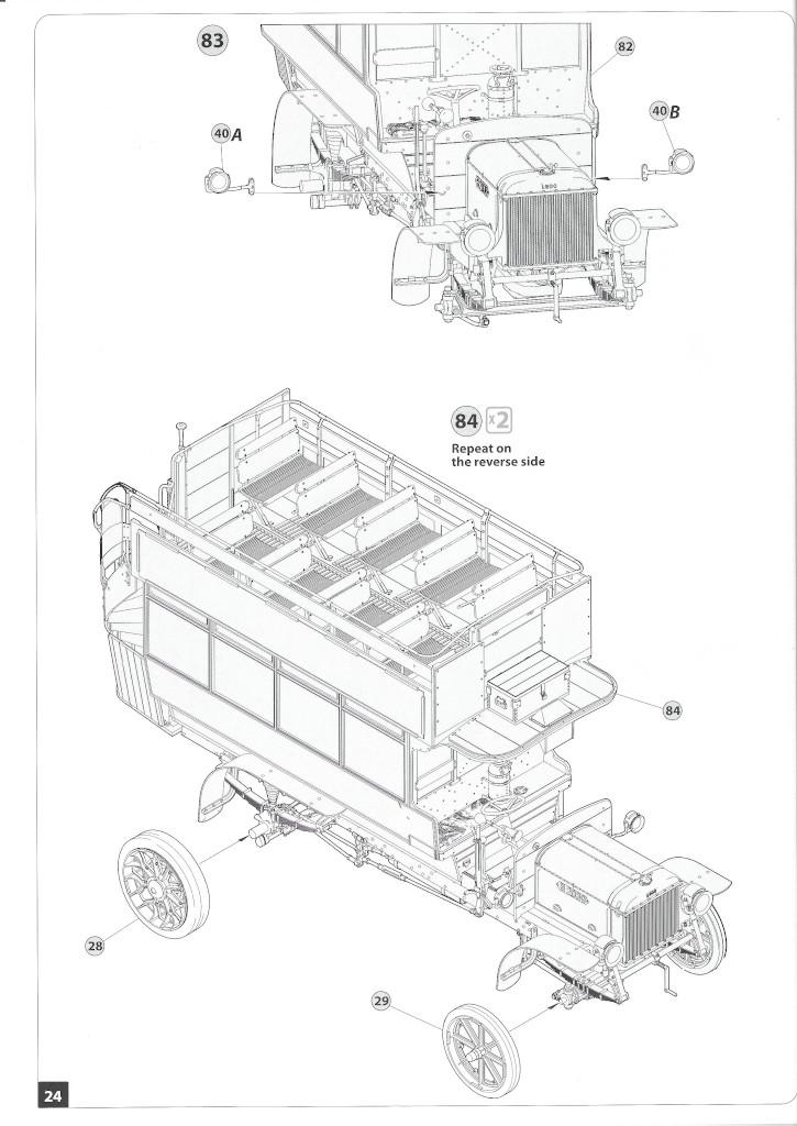 Anleitung24-1 B-Type Military Omnibus 1:35 Miniart (#39001)