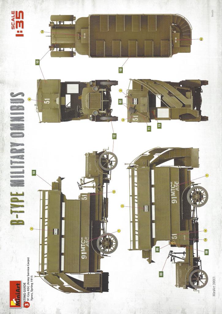 Anleitung25 B-Type Military Omnibus 1:35 Miniart (#39001)