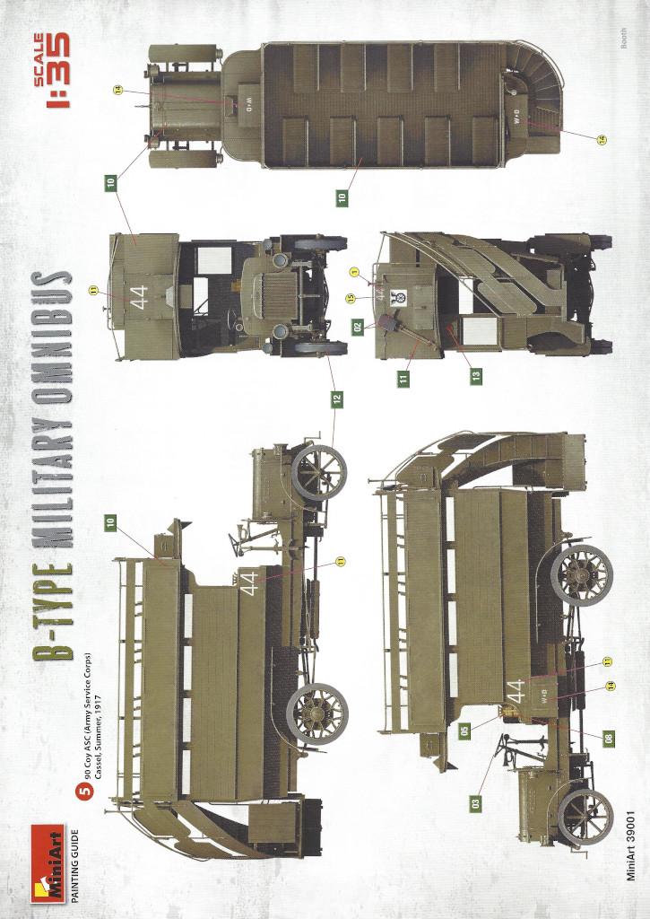 Anleitung27 B-Type Military Omnibus 1:35 Miniart (#39001)