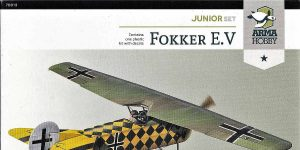 Fokker E. V in 1:72 von Arma Hobby # Junior Set 70013
