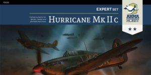 Hurricane Mk. IIc in 1:72 von Arma Hobby # Expert Set 70035