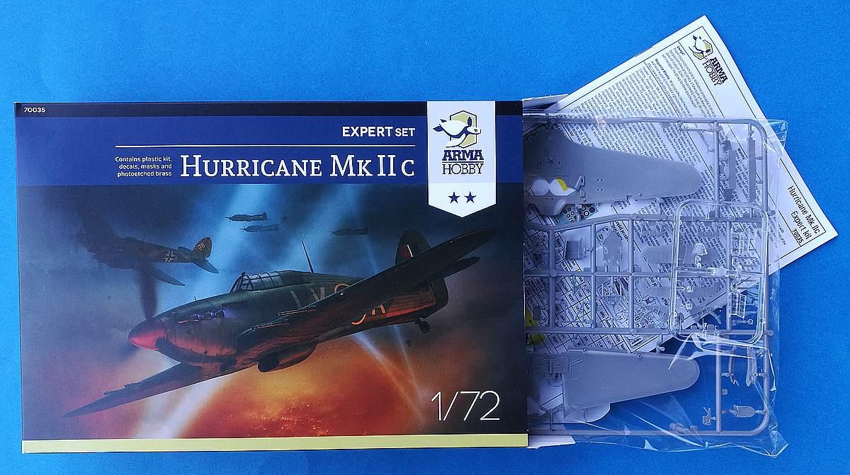 ArmaHobby-70035-Hurricane-Mk.-IIc-ExpertSet-14 Hurricane Mk. IIc in 1:72 von Arma Hobby # Expert Set 70035