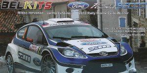 Ford Fiesta S2000 in 1:24 von Belkits #BEL 002