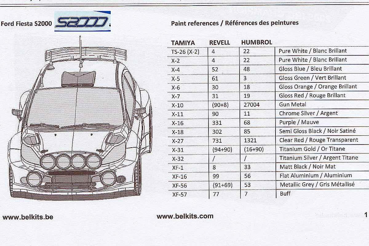 Belkits-BEL-002-Ford-Fiesta-S2000-4 Ford Fiesta S2000 in 1:24 von Belkits #BEL 002