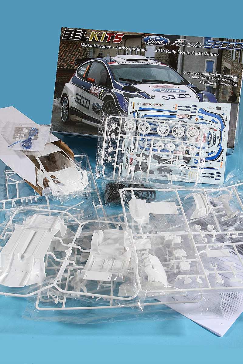 Belkits-BEL-002-Ford-Fiesta-S2000-5 Ford Fiesta S2000 in 1:24 von Belkits #BEL 002