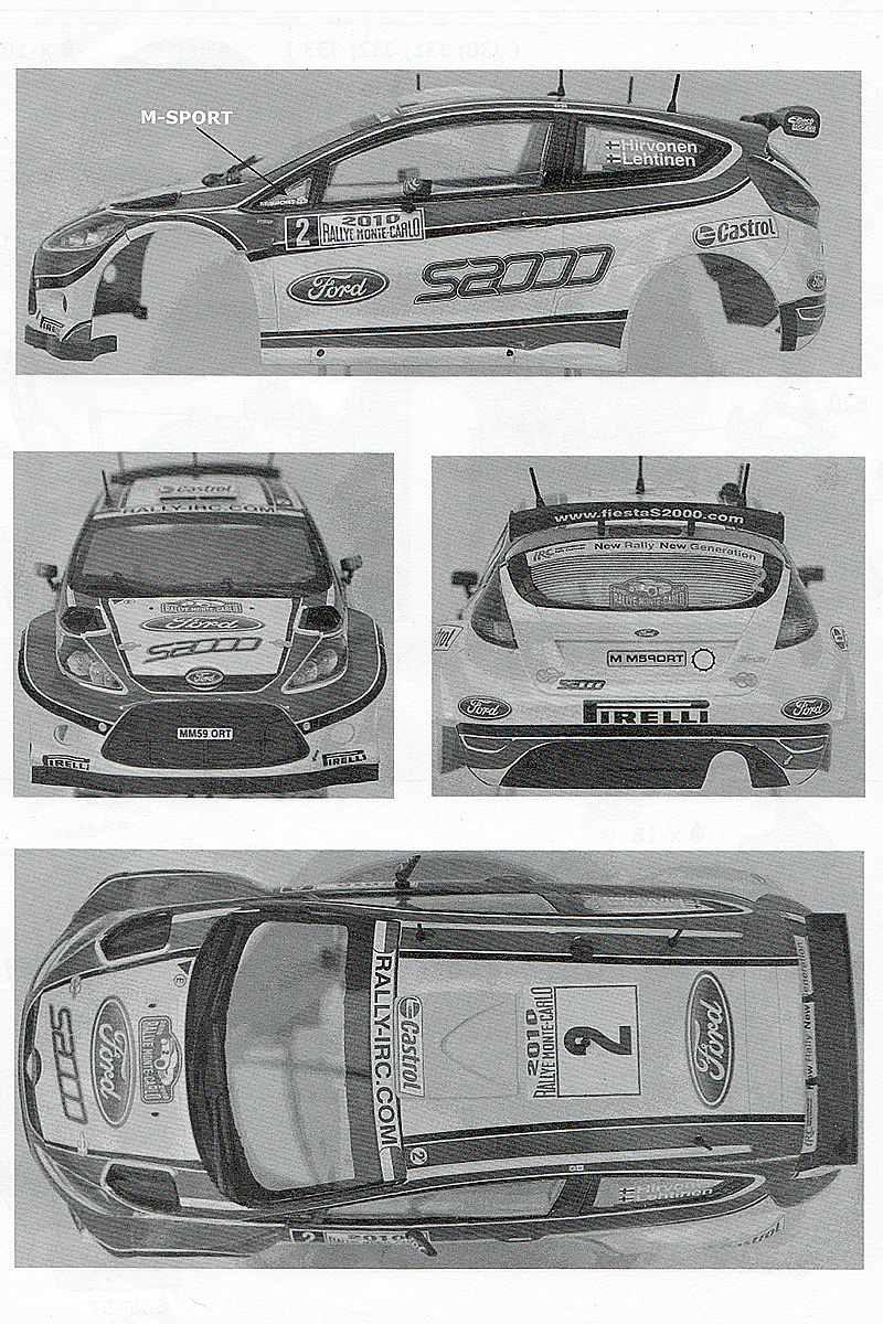 Belkits-BEL-002-Ford-Fiesta-S2000-7 Ford Fiesta S2000 in 1:24 von Belkits #BEL 002