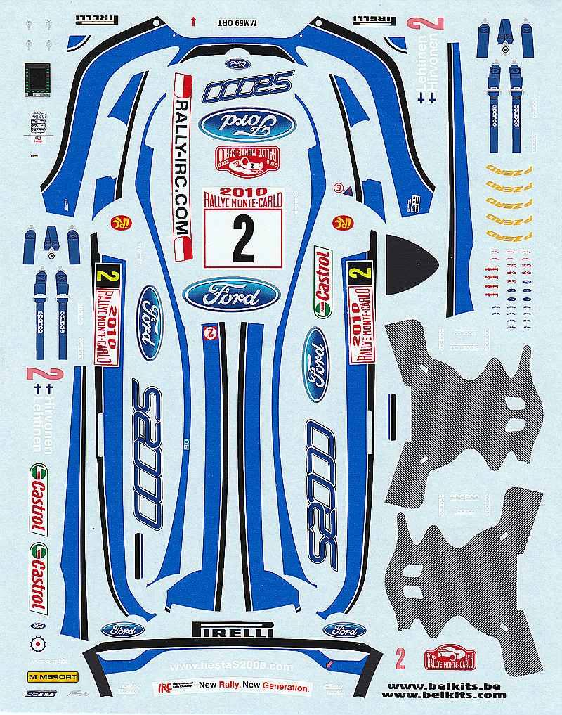 Belkits-BEL-002-Ford-Fiesta-S2000-8 Ford Fiesta S2000 in 1:24 von Belkits #BEL 002