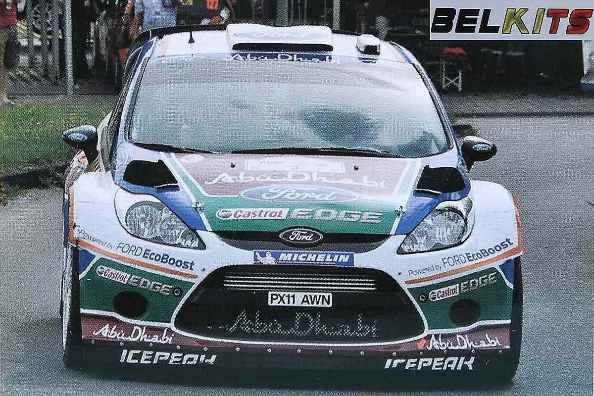 Belkits-BEL-003-Ford-Fiesta-WRC-1 Ford Fiesta WRC in 1:24 von Belkits # BEL 003
