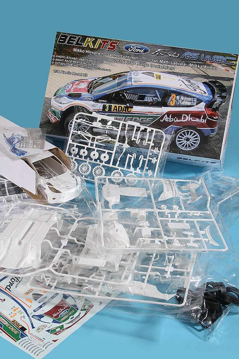 Belkits-BEL-003-Ford-Fiesta-WRC-2 Ford Fiesta WRC in 1:24 von Belkits # BEL 003