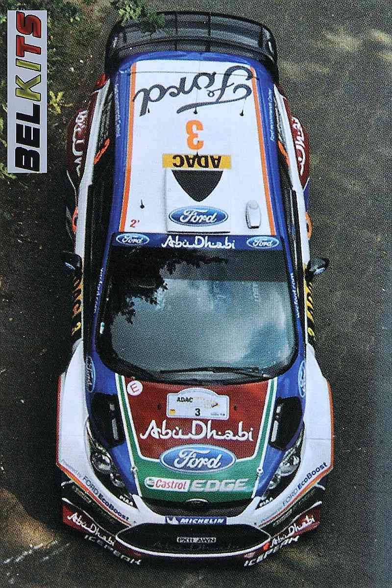 Belkits-BEL-003-Ford-Fiesta-WRC-7 Ford Fiesta WRC in 1:24 von Belkits # BEL 003