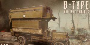 B-Type Military Omnibus 1:35 Miniart (#39001)