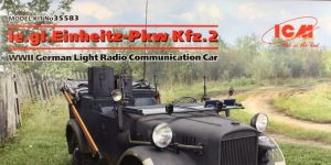 German Light Radio Communication Car (Kfz.2) – ICM 1/35