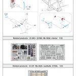 Eduard-32448-Me-262A-Exterior-150x150 Eduard Zubehör für die Revell Me 262 A-1 in 1:32