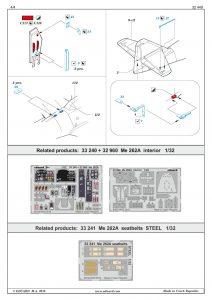 Eduard-32448-Me-262A-Exterior-212x300 Eduard 32448 Me 262A Exterior