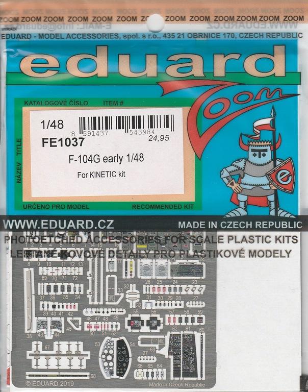 Eduard-491037-diverses-Starfighter-Early-Zubehör-9 Eduard Ätzteile und Masken für F-104G Early in 1:48