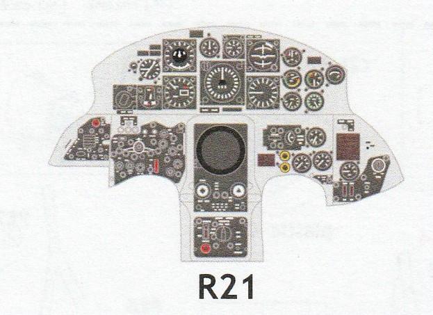 Eduard-644032-und-644037-F-105G-Starfighter-Löök-10 Eduard Löök für F-104G Early und Late  in 1:48 # 644032 und 644037