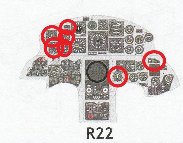 Eduard-644032-und-644037-F-105G-Starfighter-Löök-11 Eduard Löök für F-104G Early und Late  in 1:48 # 644032 und 644037
