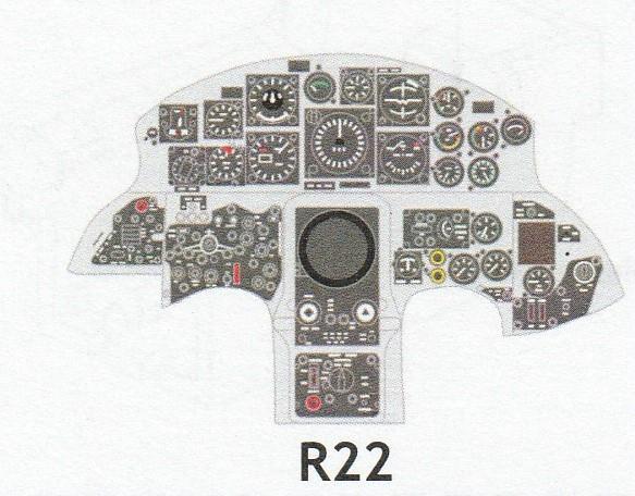 Eduard-644032-und-644037-F-105G-Starfighter-Löök-7 Eduard Löök für F-104G Early und Late in 1:48 # 644032 und 644037