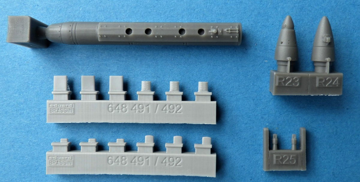 Eduard-648492-ANALQ-71-V3-3 ECM-Pod ANALQ-71 V-3 in 1:48 von Eduard BRASSIN # 648492