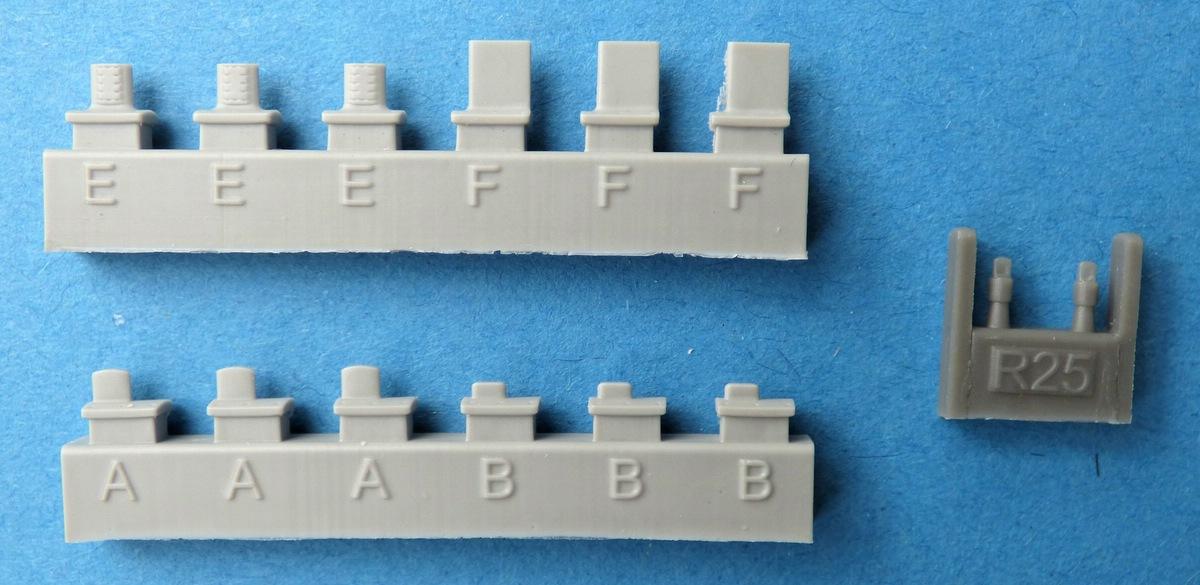 Eduard-648492-ANALQ-71-V3-7 ECM-Pod ANALQ-71 V-3 in 1:48 von Eduard BRASSIN # 648492