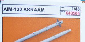Luft-Luft-Rakete AIM-132 ASRAAM in 1:48 von Eduard BRASSIN # 648506