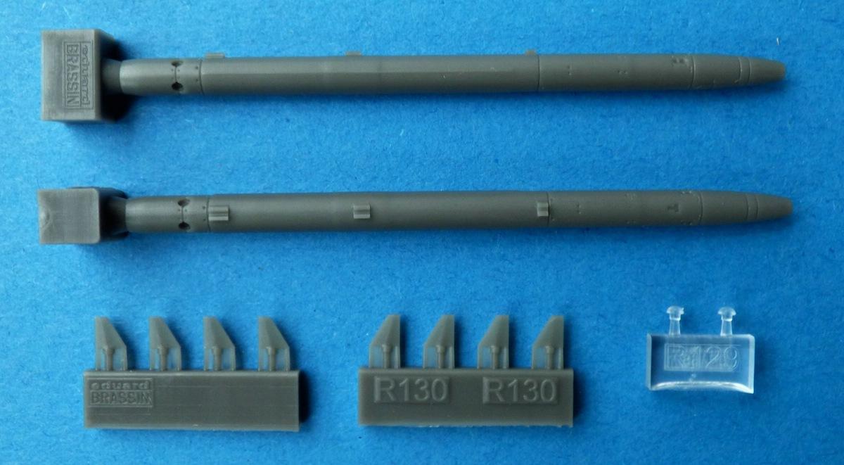 Eduard-648506-AIM-132-ASRAAM-3 Luft-Luft-Rakete AIM-132 ASRAAM in 1:48 von Eduard BRASSIN # 648506