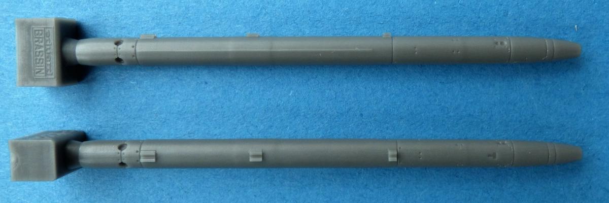 Eduard-648506-AIM-132-ASRAAM-4 Luft-Luft-Rakete AIM-132 ASRAAM in 1:48 von Eduard BRASSIN # 648506