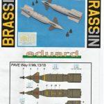 Eduard-648518-Paveway-II-Mk.-13-9-150x150 Lenkbomben Paveway II Mk. 13/18 in 1:48 von Eduard BRASSIN # 648518