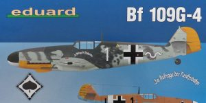 Messerschmitt Bf 109G-4 in 1:48 von Eduard Weekend Edition #84149