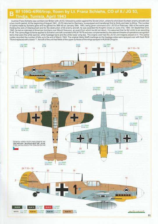 Eduard-84149-Bf-109-G-4-WEEKEND-15 Messerschmitt Bf 109G-4 in 1:48 von Eduard Weekend Edition #84149
