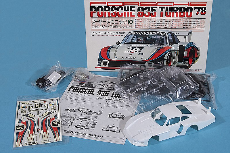 Fujimi-Porsche-935-Turbo-78-LeMans-3 Kit-Archäologie: Porsche 935 Turbo le Mans 1978 in 1:24 von Fujimi