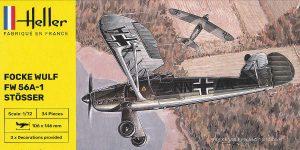 Focke Wulf FW 56 Stösser in 1:72 von Heller #80238