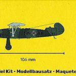 Heller-80238-Focke-Wulf-Fw-56A-1-Stösser-4-150x150 Focke Wulf FW 56 Stösser in 1:72 von Heller #80238