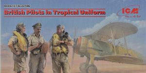 British pilots in tropical uniform in 1:32 von ICM # 32106
