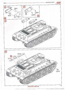 ICM-35371-T-34-Tyagach-Bauanleitung-13-218x300 ICM 35371 T-34 Tyagach Bauanleitung 13