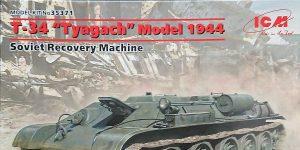 T-34 Tyagach Model 1944 in 1.35 von ICM # 35371