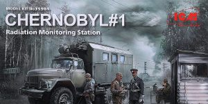 Chernobyl #1 Radiation Monitoring Station in 1:35 von ICM # 35901