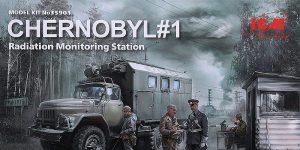Chernobyl #1 Radiation Monitoring Station in 1:35 von ICM # 35901