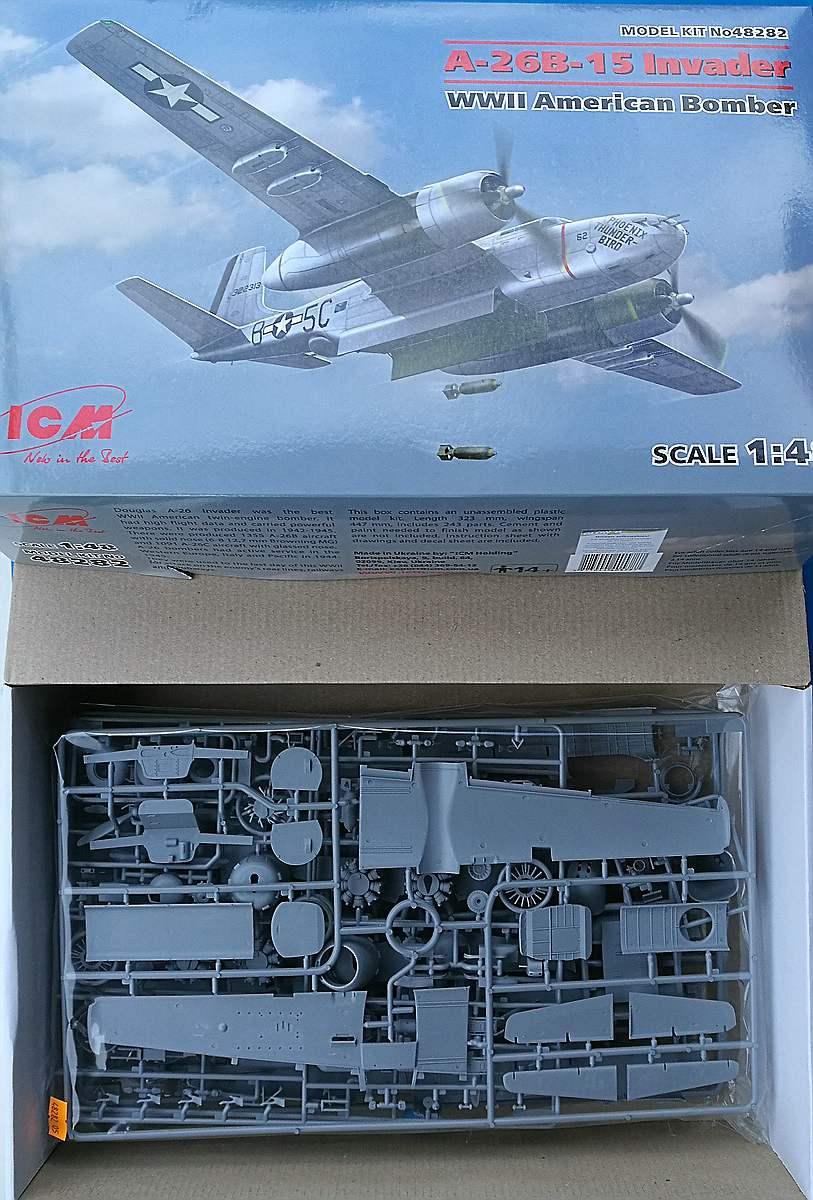 ICM-48282-A-26B-15-Invader-3 A-26B-15 Invader in 1:48 von ICM #48282