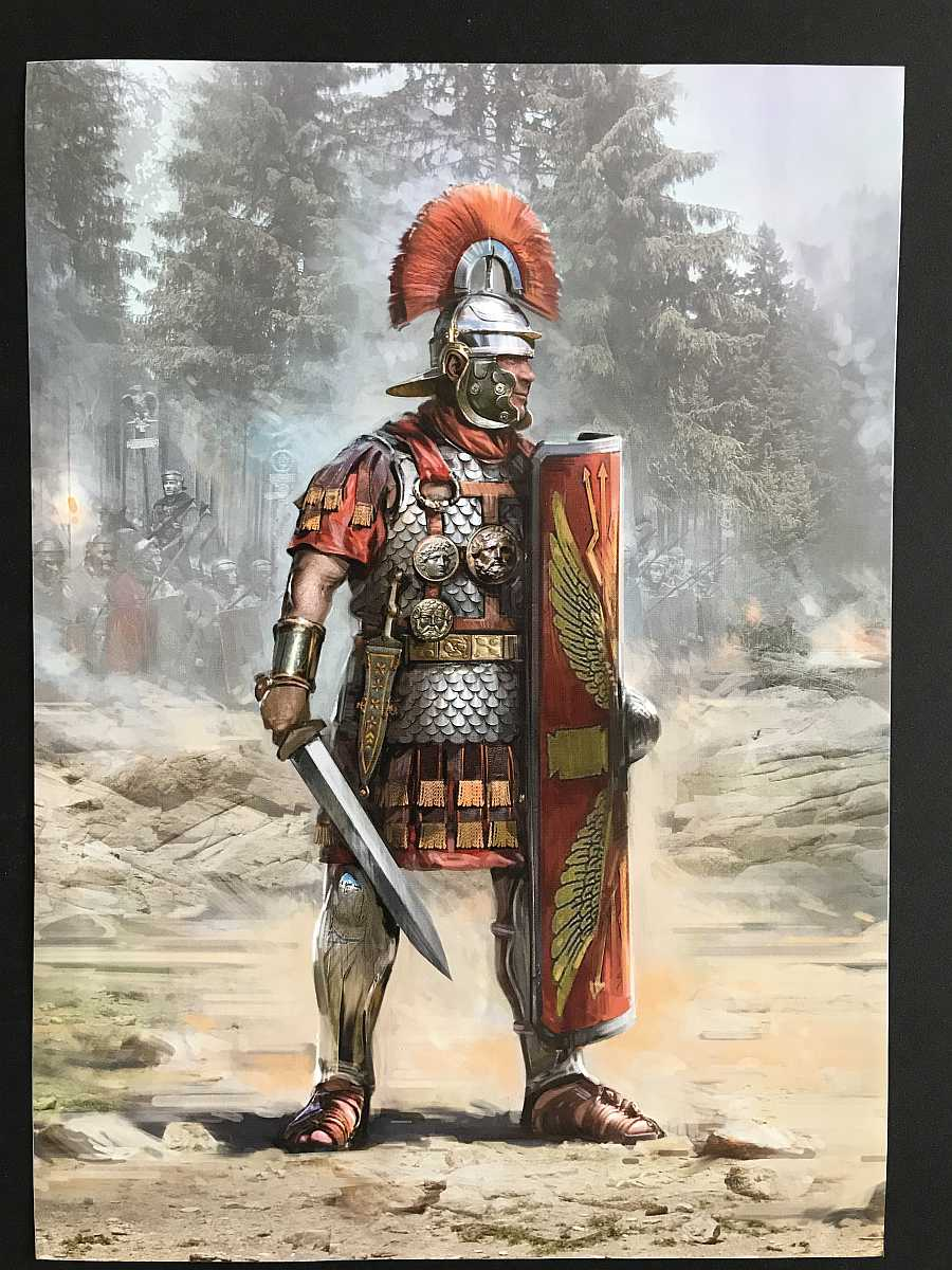 ICM_16302_ROMAN_CENTURION_I_CENTURY_03 Roman Centurion ( I Century) in 1:16 von ICM # 16302
