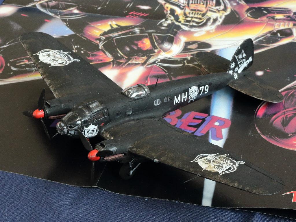 "IMG_0129 Heinkel He111 H-6 Motörhead ""Bomber"" Special 1:72 Airfix (#A07007B)"