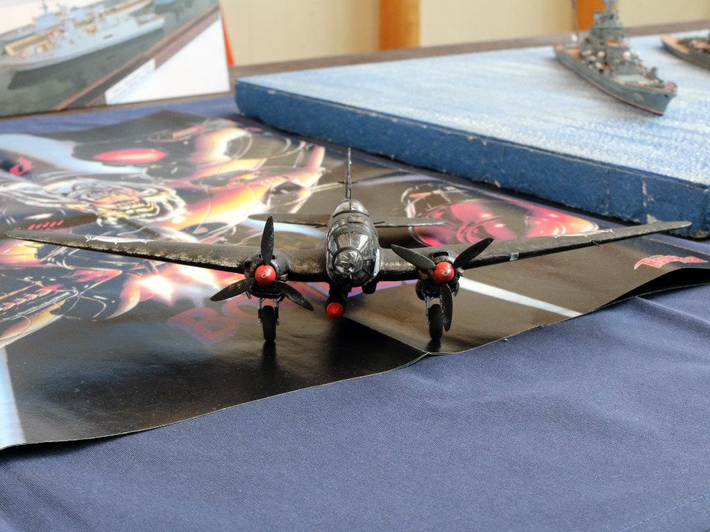 "IMG_0136 Heinkel He111 H-6 Motörhead ""Bomber"" Special 1:72 Airfix (#A07007B)"